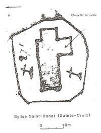 L'ancienne église Saint Donat