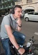 téléphone en vélo 1